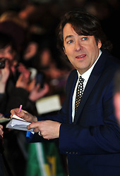 © Licensed to London News Pictures. 24/01/2012. London, England. Jonathan Ross  attends the world premiere of The Woman in Black , Hammer Films new horror movie at The Royal Festival hall  London  Photo credit : ALAN ROXBOROUGH/LNP