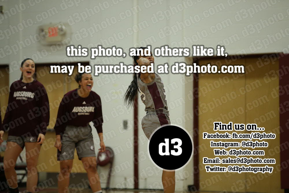 Women's Basketball: Augsburg University Auggies vs. College of Saint Benedict Blazers