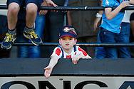 10-07-2015 VOETBAL: WILLEM II - KVC WESTERLOO:TILBURG<br /> <br /> Jonge Willem II supporters <br /> <br /> Foto: Geert van Erven