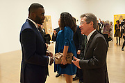 LORD BROWNE; CHRIS OFILI,  Chris Ofili dinner to celebrate the opening of his exhibition. Tate. London. 25 January 2010