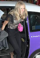 LONDON - June 013: Donna Air at Esprit Launch in Regent Street