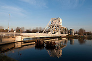 The 'new' Pegasus Bridge, on the Caen Canal, Normandy, France © Rudolf Abraham
