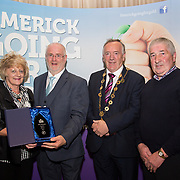 10.10. 2017. <br /> Roger Beck, Parkway Shopping Centre and Mayor of the City and County of Limerick Cllr Stephen Keary presented The Garden Category of The Going For Gold Final to John and Ita Carroll, Castlemahon, overall winners.                      <br /> <br /> Limerick Going for Gold, which is sponsored by the JP McManus Charitable Foundation, has a total prize pool of over €75,000.  It is organised by Limerick City and County Council and supported by Limerick's Live 95FM, The Limerick Leader and The Limerick Chronicle, The Limerick Post, Parkway Shopping Centre, I Love Limerick and Southern Marketing Media & Design. Picture: Alan Place