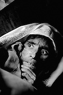 40-year-old Naqsha Bibi was found alive in the ruins 63 days after the earthquake. She had gone into shock when the tremors destroyed her family's house, and was not found until the family returned home. By that time she weighed 35 kilos and could not speak. Dec. 2005