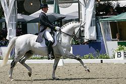 Teeuwissen Arjen - Silver 'N' Brasse<br /> Nederlands Kampioenschap Dressuur<br />  Eindhoven 2007<br /> Photo © Hippo Foto