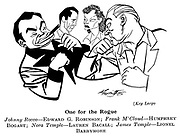 Key Largo ; Edward G Robinson , Humphrey Bogart , Lauren Bacall and Lionel Barrymore......