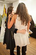 ALINA JAKUBOVA; OLIA SARDAROVA, Pakpoom Silaphan 'Empire State' Opening Reception, Scream. Eastcastle St. London. 21 February 2013