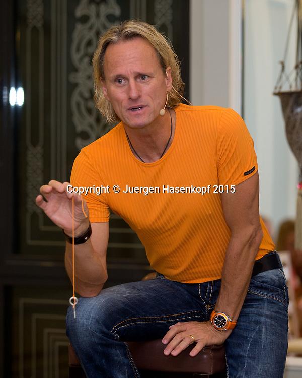 Thomas Baschab, Mental Trainer<br /> <br /> travel - Patricio Travel -  -  Ali Bey Resort Side - Side - Antalya - Tuerkei  - 28 September 2015. <br /> &copy; Juergen Hasenkopf