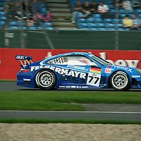 #77 Porsche 997 GT3 RSR - Team Felbermayr-Proton (Drivers - Alex Davison and Marc Lieb) GT2, Le Mans Series Silverstone 1000KM 2008