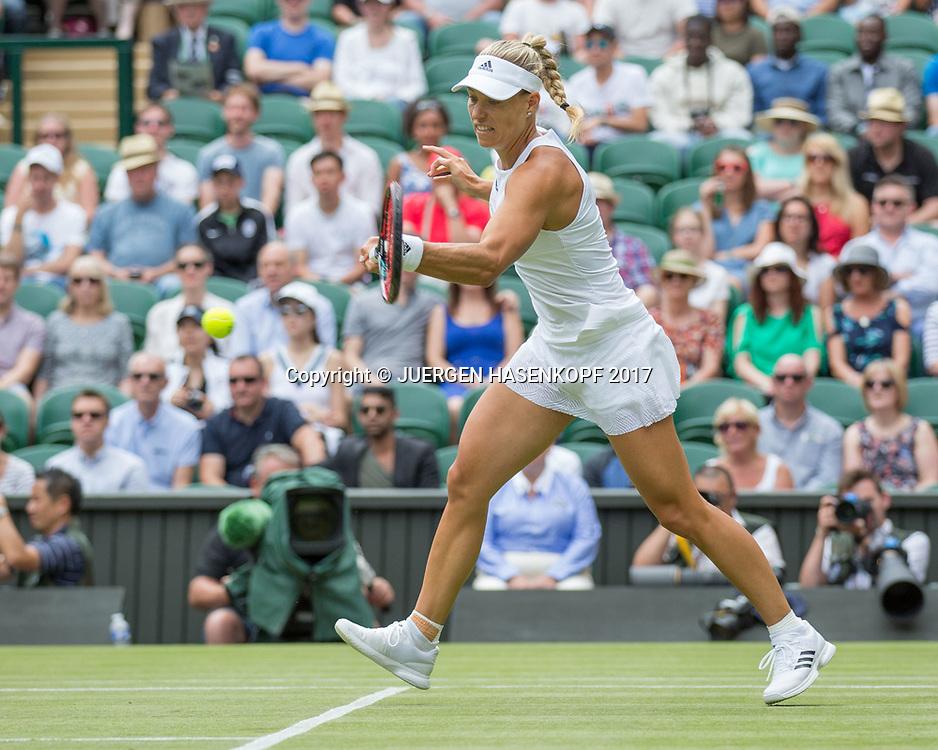ANGELIQUE KERBER (GER)<br /> <br /> Tennis - Wimbledon 2016 - Grand Slam ITF / ATP / WTA -  AELTC - London -  - Great Britain  - 4 July 2017.