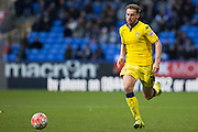 Charlie Taylor of Leeds United during the The FA Cup fourth round match between Bolton Wanderers and Leeds United at the Macron Stadium, Bolton, England on 30 January 2016. Photo by Simon Brady.