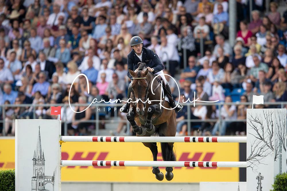 Bruynseels Niels, BEL, Jenson van't Meulenhof<br /> CHIO Aachen 2019<br /> Weltfest des Pferdesports<br /> © Hippo Foto - Stefan Lafrentz<br /> Bruynseels Niels, BEL, Jenson van't Meulenhof