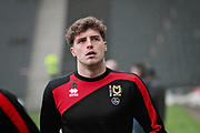 MK Dons Robbie Muirhead(16) warming up before the EFL Sky Bet League 1 match between Milton Keynes Dons and Bristol Rovers at stadium:mk, Milton Keynes, England on 3 March 2018. Picture by Nigel Cole.