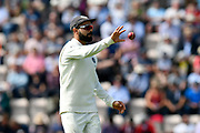 Virat Kohli (captain) of India during the first day of the 4th SpecSavers International Test Match 2018 match between England and India at the Ageas Bowl, Southampton, United Kingdom on 30 August 2018.