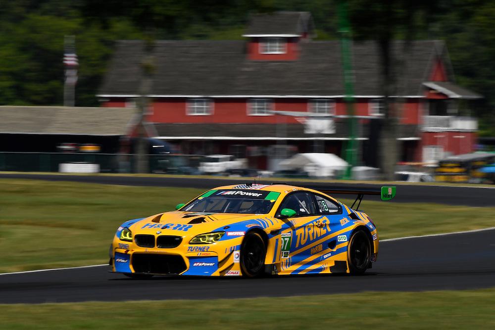 26-28 August, 2016, Alton, Virginia USA<br /> 97, BMW, M6 GT3, GTD, Michael Marsal, Markus Palttala<br /> &copy;2016, Scott R LePage <br /> LAT Photo USA