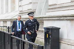Scotland Yard, London, March 23rd 2017. Assistant Commissioner, counter-terrorism Mark Rowley enters Downing Street as investigations continue in the aftermath of Tuesday's terrorist attack on Westminster Bridge and in the grounds of Parliament, in which four people and their attacker were killed with over 40 injured.