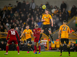 WOLVERHAMPTON, ENGLAND - Thursday, January 23, 2020: Wolverhampton Wanderers' Leander Dendoncker during the FA Premier League match between Wolverhampton Wanderers FC and Liverpool FC at Molineux Stadium. (Pic by David Rawcliffe/Propaganda)