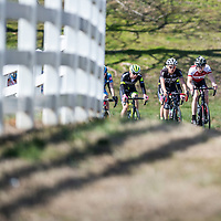 WOODSTOCK, VA - MAR 5: Ben rides at the front of what is left of the main pack during the road race, the 3rd stage of the Tour of the Southern Highlands stage race on Sunday, Mar. 5, 2017 in Woodstock, Ga. (Photo by Jay Westcott/The News & Advance)