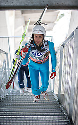 20.03.2015, Planica, Ratece, SLO, FIS Weltcup Ski Sprung, Planica, Finale, Skifliegen, im Bild Vincent Descombes Sevoie (FRA) //during the Ski Flying Individual Competition of the FIS Ski jumping Worldcup Cup finals at Planica in Ratece, Slovenia on 2015/03/20. EXPA Pictures © 2015, PhotoCredit: EXPA/ JFK