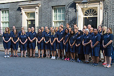 2015-08-28 Great Britain crew members visit Downing Street ahead of Round The World Yacht Race