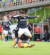 Dundee' s Kane Hemmings bursts clear - Dundee United v Dundee at Tannadice<br /> - Ladbrokes Premiership<br /> <br />  - &copy; David Young - www.davidyoungphoto.co.uk - email: davidyoungphoto@gmail.com