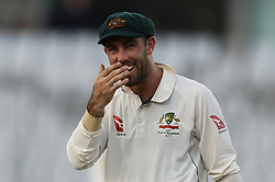 August 28, 2017 - Mirpur, Bangladesh - Maxwell  during day two of the First Test match between Bangladesh and Australia at Shere Bangla National Stadium on August 28, 2017 in Mirpur, Bangladesh. (Credit Image: © Ahmed Salahuddin/NurPhoto via ZUMA Press)