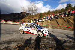 17.01.2014, Stage 10, Sisteron, FRA, FIA, WRC, Rallye Monte Carlo, 2. Tag, im Bild BOUFFIER Bryan / PANSERI Xavier ( M Sport Ltd (GBR) / Ford Fiesta RS ), Aktion / Action // during Stage 10 on day two of FIA Rallye Monte Carlo held near Monte Carlo, France on 2014/01/17. EXPA Pictures © 2014, PhotoCredit: EXPA/ Eibner-Pressefoto/ Neis<br /> <br /> *****ATTENTION - OUT of GER*****
