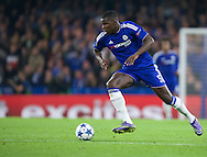 Kurt Zouma of Chelsea during the UEFA Champions League match at Stamford Bridge, London<br /> Picture by Alan Stanford/Focus Images Ltd +44 7915 056117<br /> 04/11/2015