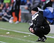 Udine, 23 marzo 2014.<br /> Serie A 2013/2014. 29^ giornata.<br /> Stadio Friuli<br /> Udinese vs Sassuolo.<br /> Nella foto: Francesco Guidolin, allenatore Udinese.<br /> © foto di Simone Ferraro