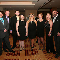 Rob Terry, Jay Amarosa, Andrew and Brittney Bird, Stefanie Terry, Tracy Amarosa, Dawn and James Needham