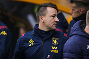 John Terry of Aston Villa during the Premier League match between Wolverhampton Wanderers and Aston Villa at Molineux, Wolverhampton, England on 10 November 2019.