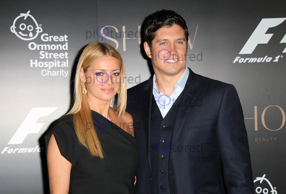 Tess Daly; Vernon Kay, F1 Party in aid of Great Ormond Street Hospital Children's Charity, Victoria and Albert Museum, London UK, 02 July 2014, Photo by Richard Goldschmidt