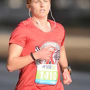 Dominique Stasulli participates in Race 13.1 Sunday February 22, 2015 in Wilmington, N.C. (Jason A. Frizzelle)