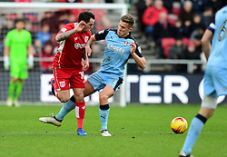 Lee Tomlin of Bristol City flicks the ball  - Mandatory by-line: Joe Meredith/JMP - 04/02/2017 - FOOTBALL - Ashton Gate - Bristol, England - Bristol City v Rotherham United - Sky Bet Championship