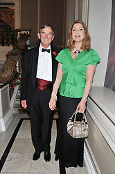 JAMES COCHRANE Chairman of the British Red Cross and MARIA SHAMMAS Chairman of the British Red Cross International Fundraising Committee at Brazil Now a gala ball in aid of the Red Cross held at the Grand Connaught Rooms, 61-65 Queen Street, London on 6th November 2012.