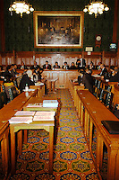 LONDON, Westminster 9 Nov. 2005...Mohammad Sarwar MP addresses the meeting....The Justice Foundation Kashmir Centre London together with the All-Party Parliamentary Group (APPG) on Kashmir organised a meeting in the House of Commons entitled ?Kashmir After the Earthquake ? Rebuilding Together.