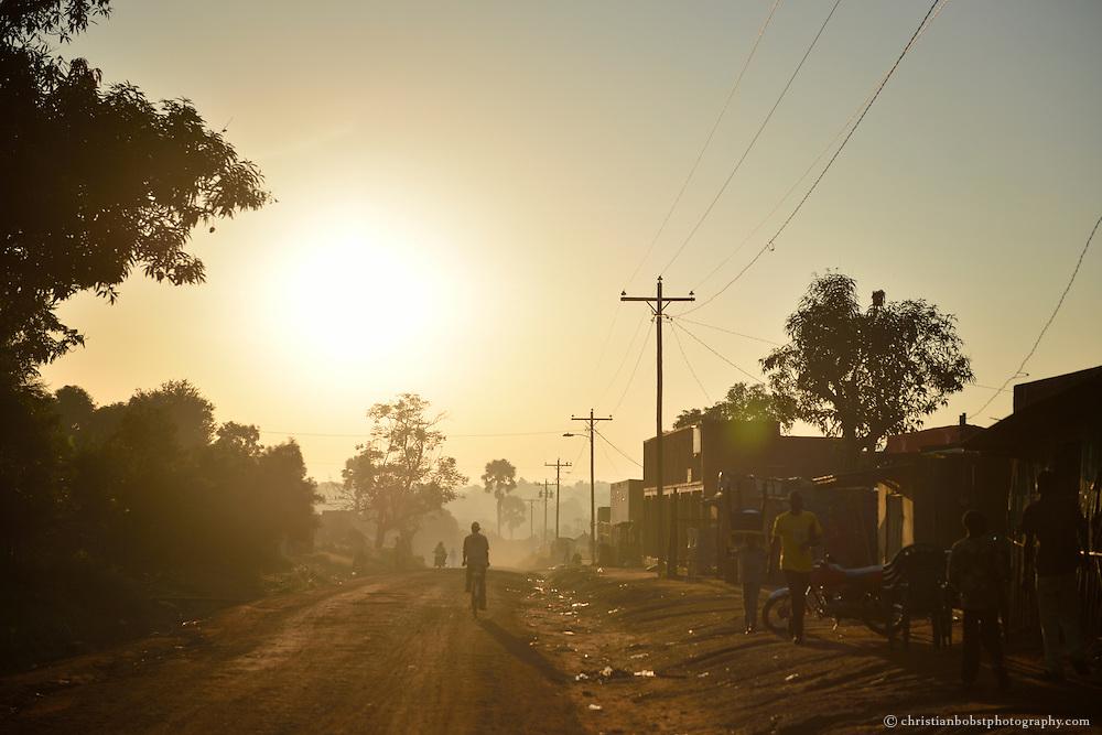 Strasse in Südsudan