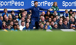 Tottenham Hotspur manager Mauricio Pochettino cuts a frustrated figure - Mandatory by-line: Robbie Stephenson/JMP - 09/09/2017 - FOOTBALL - Goodison Park - Liverpool, England - Everton v Tottenham Hotspur - Premier League