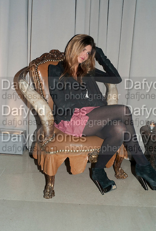 GEMMA GREGORY, Frieze week party at the Sanderson hotel hosted by Andrew Kreps Gallery and Anton Kern Gallery . Billiard Room at Sanderson. London. 16 October 2010. <br /> <br /> -DO NOT ARCHIVE-© Copyright Photograph by Dafydd Jones. 248 Clapham Rd. London SW9 0PZ. Tel 0207 820 0771. www.dafjones.com.