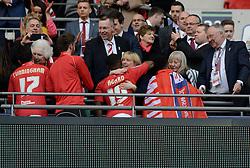 Bristol City directors congratulate the team  - Photo mandatory by-line: Joe Meredith/JMP - Mobile: 07966 386802 - 22/03/2015 - SPORT - Football - London - Wembley Stadium - Bristol City v Walsall - Johnstone Paint Trophy Final