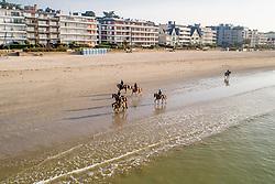 Beach ride in the morning<br /> Jumping International de La Baule 2019<br /> © Hippo Foto - Dirk Caremans<br /> 19/05/2019