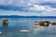 Laura Quinn on Lake Tahoe's East Shore