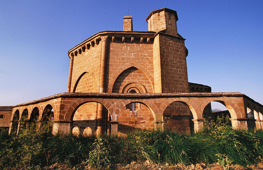 Church of Santa Maria de Eunate, Navarra, Spain.