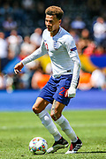 England midfielder Dele Alli (Tottenham) during the UEFA Nations League 3rd place play-off match between Switzerland and England at Estadio D. Afonso Henriques, Guimaraes, Portugal on 9 June 2019.
