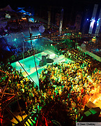 Overhead view of the club Manumission at Privilege, Ibiza 1999