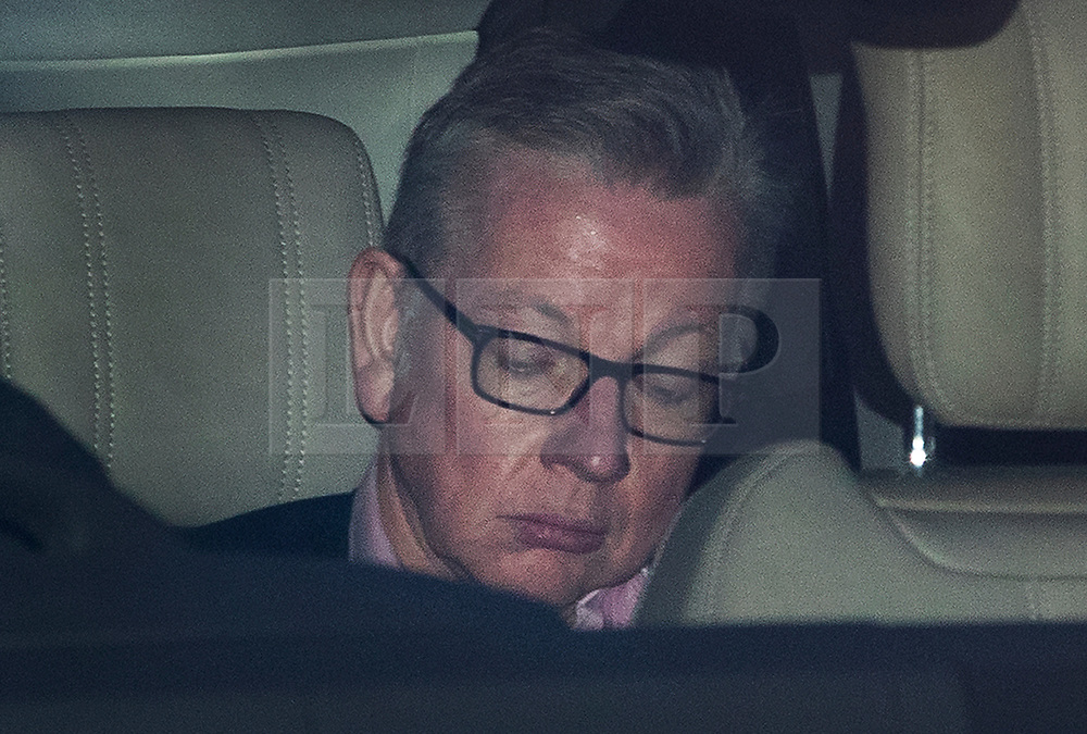 © Licensed to London News Pictures. 24/03/2019. Chequers , UK. Michael Gove leaves Chequers after meeting with the Prime Minister. There have been reports of a cabinet revolt against Prime Minister Theresa May, over her handing of the Brexit negotiations. Photo credit: Peter Macdiarmid/LNP