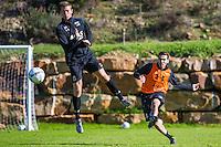 ESTEPONA - 06-01-2016, AZ in Spanje 6 januari, AZ speler Robert Muhren, AZ speler Celso Ortiz