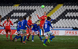 CESENA, ITALY - Tuesday, January 22, 2019: Wales' captain Sophie Ingle during the International Friendly between Italy and Wales at the Stadio Dino Manuzzi. (Pic by David Rawcliffe/Propaganda)