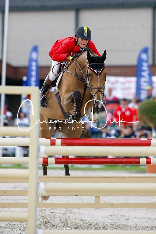 Verlooy Jos (BEL) - Tia Maria <br /> European Championship Childern - Moorsele 2009<br /> © Hippo Foto - Dirk Caremans