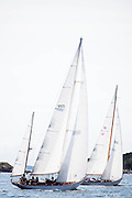 Sonny and Black Watch sailing in the Museum of Yachting Classic Yacht Regatta, day two.
